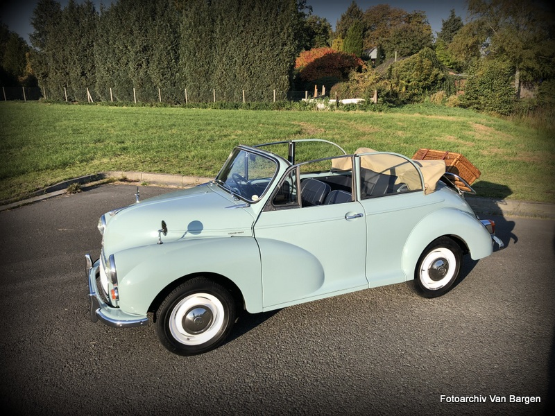 Morris Minor 1000 Cabriolet Series III