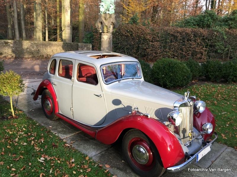 MG YA Limousine Erstes Baulos