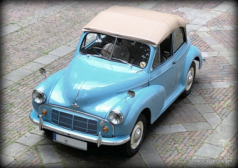 Morris Minor MM Tourer Cabriolet Export
