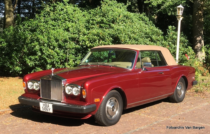 Rolls-Royce Corniche I Cabriolet Series II