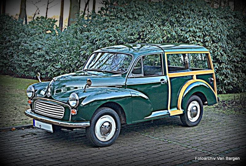 Morris Minor 1000 Traveller Kombi Für Deutschland hergestellt
