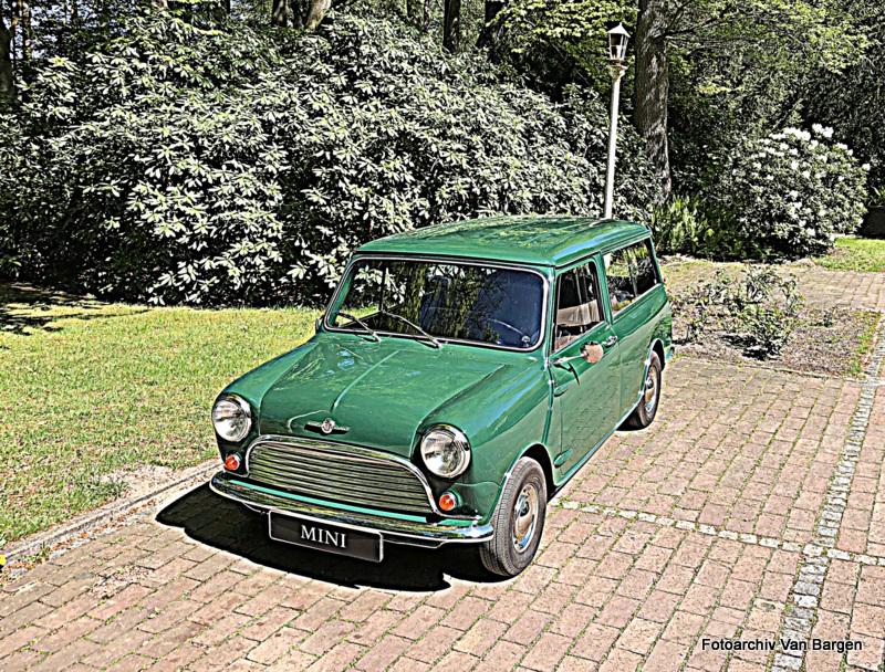 Morris Mini Traveller Kombi MK II Mascot